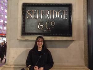 Outside Selfridge's