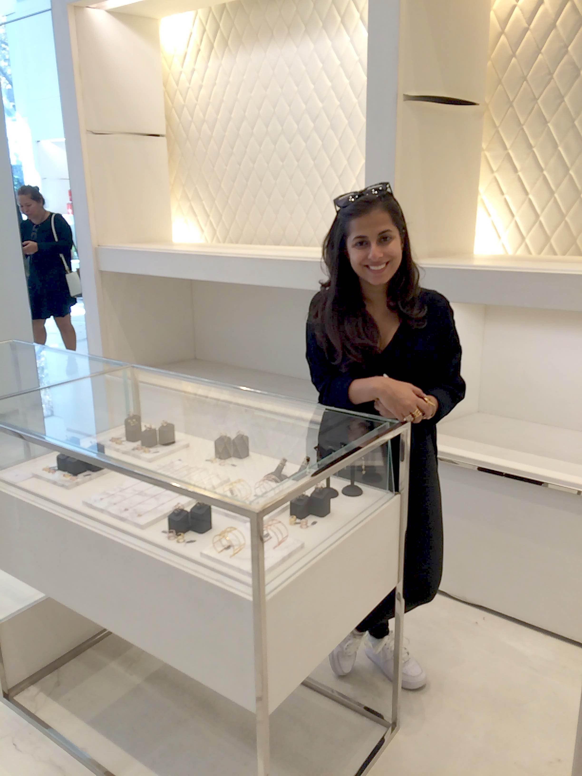 Kasané Jewelry designer Karishma Sani
